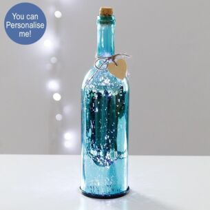 Blue LED Firefly Bottle