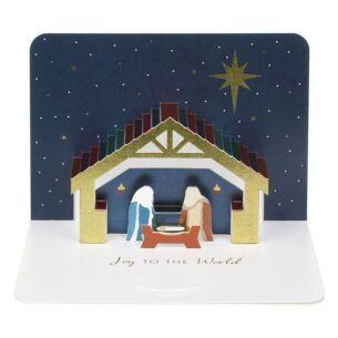 The Art File Nativity 3D Card