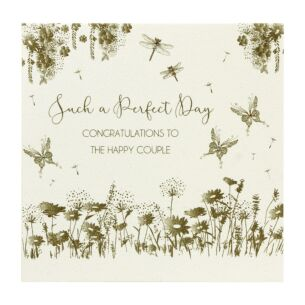 Five Dollar Shake Such A Perfect Day Wedding Card