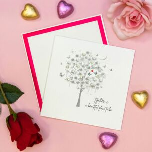 'Together Is A Beautiful Place' Valentine's Day Card