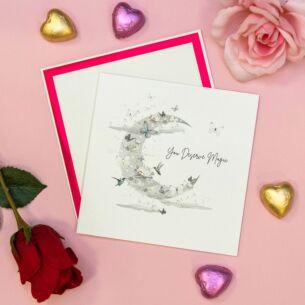 'You Deserve Magic' Valentine's Day Card