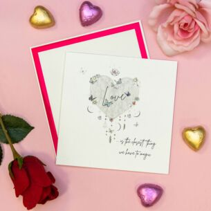 'Love Is The Closest Thing' Valentine's Day Card