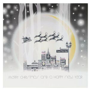 Santa Claus Lane – Box Of 6 Christmas Cards