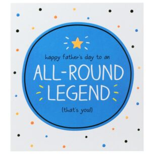 'All-Round Legend' Father's Day Card