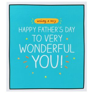 'Wonderful You' Father's Day Card
