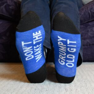 Don't Wake The Grumpy Old Git Socks