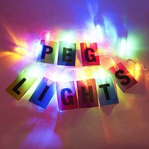 Illuminated Peg Lights