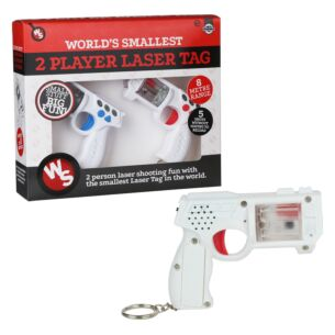 World's Smallest Two Player Laser Tag