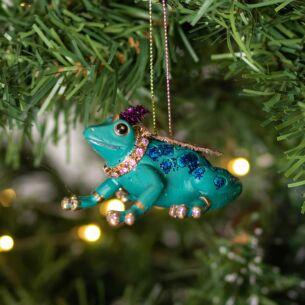 Assorted Fantasy Frog Resin Tree Decoration