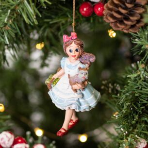 Resin Dorothy with Toto Tree Decoration