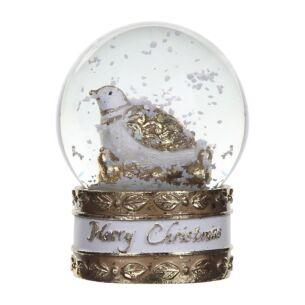 Partridge in a Pear Tree Medium Snow Globe
