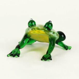 Temptation Glass Animal Green Frog