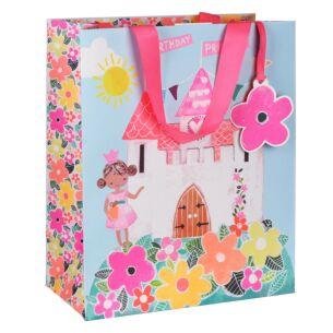 Juniors Princess Castle Large Gift Bag