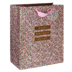 Stephanie Dyment Birthday Ditsy Floral Large Gift Bag
