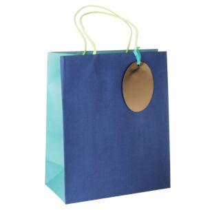 Pure Zest Aquamarine Large Gift Bag