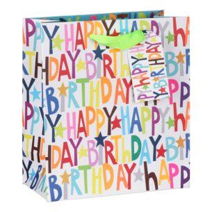 Paper Salad Happy Birthday Medium Gift Bag