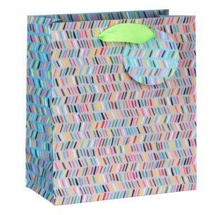 Paper Salad Dashes Medium Gift Bag