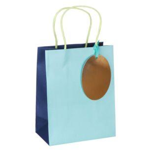 Pure Zest Aquamarine Medium Gift Bag
