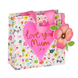 Paper Salad Mum Small Gift Bag