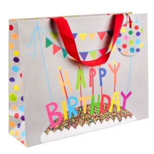 Happy Birthday Landscape Large Gift Bag