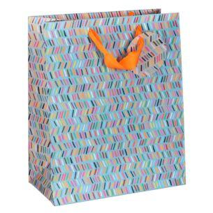 Paper Salad Dashes Large Gift Bag