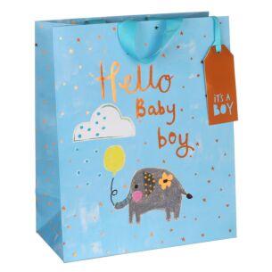 Paper Salad Baby Boy Large Gift Bag