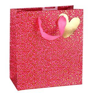 Paper Salad Love Hearts Medium Valentines Gift Bag