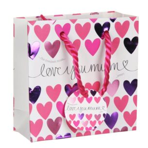 Love You Mum Small Gift Bag