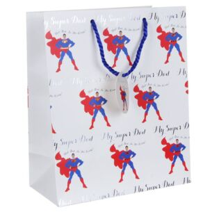 Super Dad Large Gift Bag