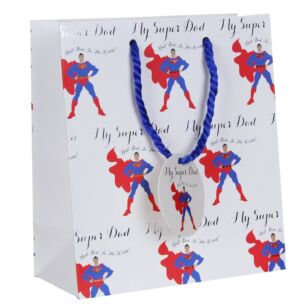 Super Dad Medium Gift Bag