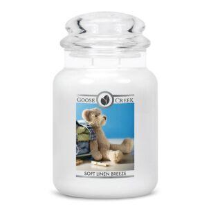 Soft Linen Breeze Large Jar Candle