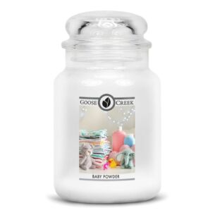 Baby Powder Large Jar Candle