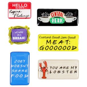 Set Of 6 Quotes Magnets