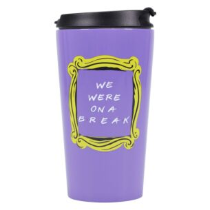 We Were On A Break Travel Mug