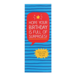 Birthday Surprises Money Card