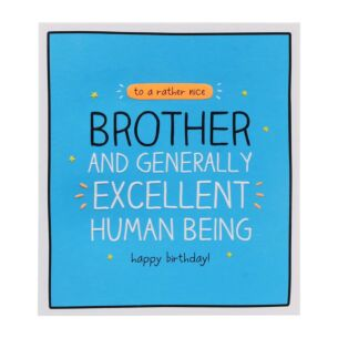 Brother Excellent Human Being Card
