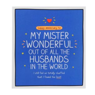 Husband 'Mister Wonderful' Anniversary Card