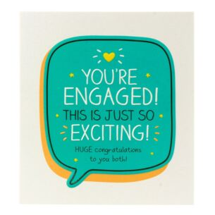 Happy Jackson 'You're Engaged!' Card