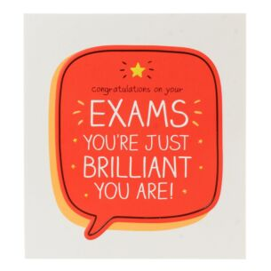 'Congratulations on Your Exams' Card