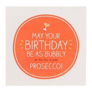 'Prosecco' Birthday Card