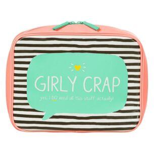 Happy Jackson Girly Crap Travel Bag