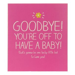 Off To Have A Baby Card