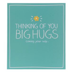 Thinking Of You Big Hugs Card
