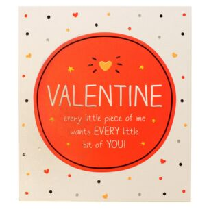 Valentine Every Little Piece Valentine Card