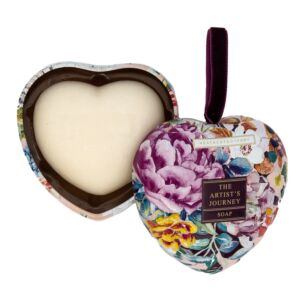 The Artist's Journey Soap in a Heart Tin