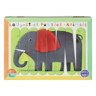 Animals Lolly Stick Puzzles