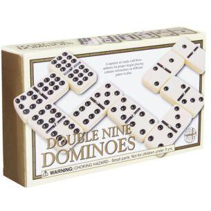 Retro Double Nine Dominoes Game