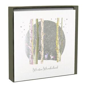 'Winter Wonderland' Woodland Scene - Box of 6 Christmas Cards