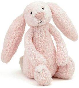 Pink Bashful Bunny Rattle