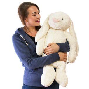 Really Big Bashful Cream Bunny